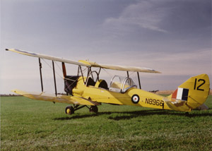 1941 deHavilland Tiger Moth, Canadian Model